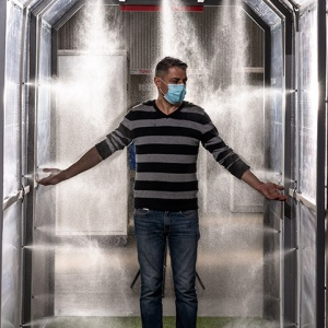 Tunel cu sistem de pulverizare-exterior Frig 03 tunel fara recuperare lichid